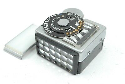 Canon clip on Light meter for Canonflex, VGC and working