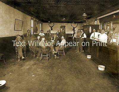 """1914 Old Stand Saloon, Carter County, MT Vintage Photo 8.5"""" x 11""""  Reprint"""