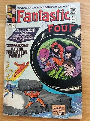Fantastic Four 38 (May 1965 Marvel)