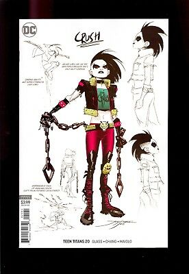 Teen Titans #20 Variant 1:25 Crush Design Daughter   Near Mint   Comic Kings