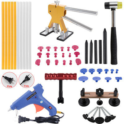 Paintless Dent Removal Automotive Pro PDR Tools Kit Car Dent DIY No Paint Repair