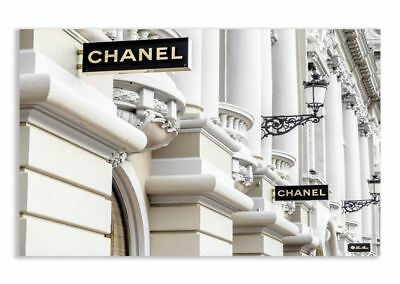 Chanel art printed Chanel wall art coco Chanel poster coco Chanel print