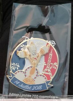 PIN PINS DISNEYland PARIS 14 JUILLET BASTILLE DAY LUMIERE LE Beauty Beast Disney