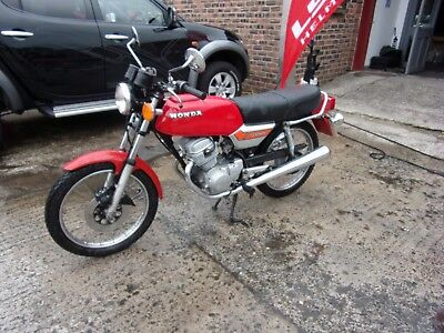 Honda Cb125 Twin Cb 125 Twin 1977 Model