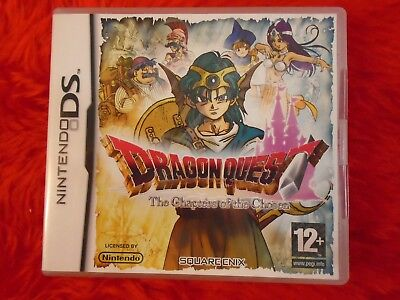 ds DRAGON QUEST Chapters Of The Chosen Epic RPG Lite DSi 3DS PAL UK