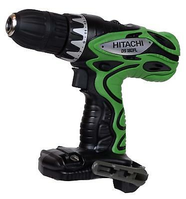 "Hitachi DS18DFL 18V 1/2"" Cordless Drill Driver with 2 Batteries"