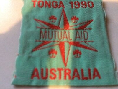 Girl Guides / Scouts Tonga 1990