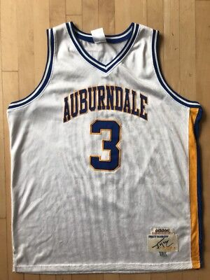 dffd84913 ADIDAS TRUE SCHOOL TRACY McGRADY AUBURNDALE HIGH SCHOOL SEWN JERSEY 52 XL