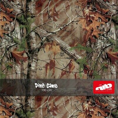 PINE CAMO Hydrographics Film - Hydro Dipping folded film WOODLAND