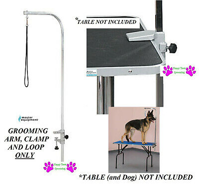 "Master Equipment Heavy Duty Grooming Groomers PET DOG 36"" Table ARM,Clamp&Loop"