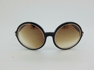 143f09b2add9e TOM FORD TF 268 01F CARRIE Black Brown Gradient 59mm Oversize Sunglasses