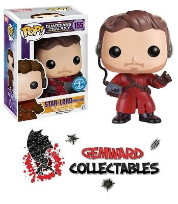 Guardians Of The Galaxy Star Lord With Mix Tape Funko POP! #155
