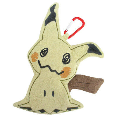 Brand New Sanei PZ31 Pokemon All Star Petafuwa Plush Zipper Pouch - Mimikyu 7""