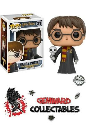 Funko POP! Harry Potter With Hedwig Exclusive #31