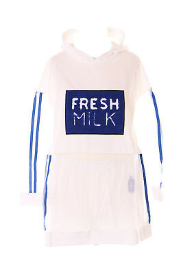 0ae943222288 TP-140 Blue White Shorts Long Sleeve Hooded Shirt Set Transparent Harajuku