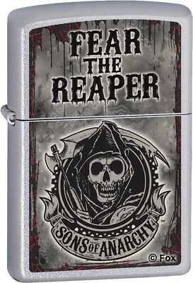 Zippo Lighters & Accessories New Sons of Anarchy Fear Reaper 28502