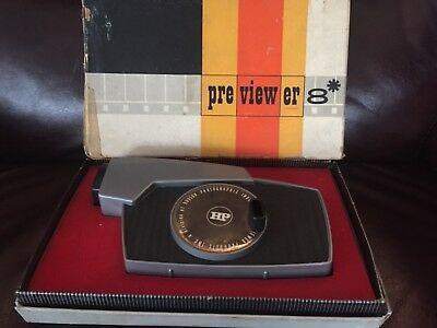 Hudson Photographic Viewer Products Pre Viewer 8 Auto Action 8MM Movie Viewer
