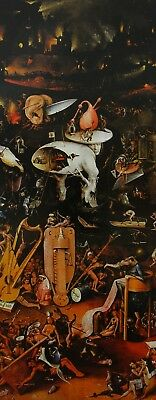 The Garden of Earthly Delights Hieronymus Bosch 1503-1515 Unframed Art Print