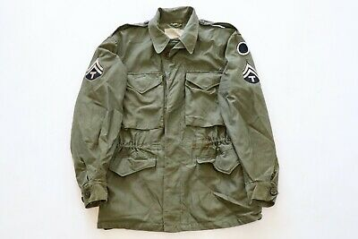 Original US WWII Army M-1943 Field Jacket Pacific Used- I Corps Patch