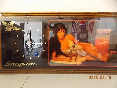 """Snap on wall clock new in the original box keeps time great.   23"""" x 12""""   2"""