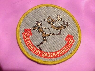 Girl Guides / Scouts Sketches by Baden Powell 46