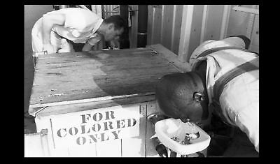 Colored Drinking Fountain Black Segregation PHOTO Civil Rights, Jim Crow 1950s