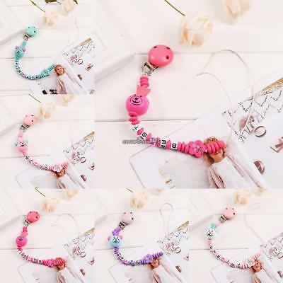 Cute Durable Print Baby Pacifier Chain Pacifier Holder Pacifier Clip CLSV