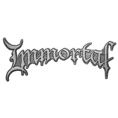 Immortal Logo Pin Button Badge Official Black Metal Band Merch New
