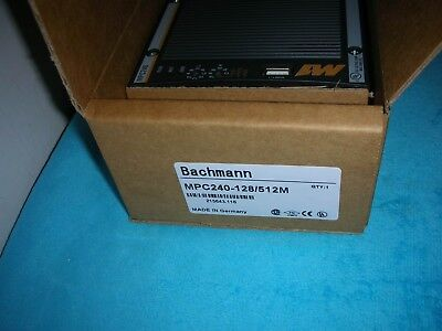 Bachmann MPC240-128/512M new in box