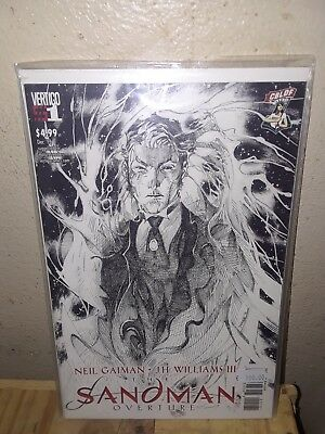 Sandman Overture #1 CBLDF Variant by JIM LEE First Print Neil Gaiman