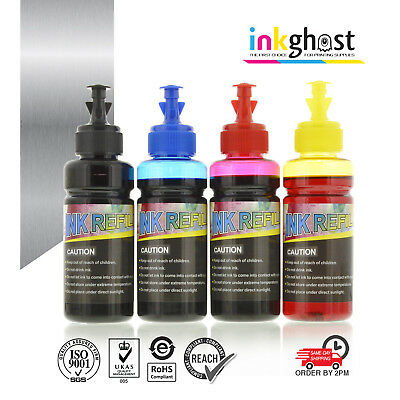 Inkghost 220 & 220XL Ink Refill for Epson Cartridges XP320, XP420 WF2760 +More
