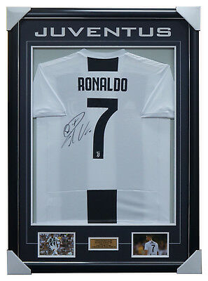 08ed6c31b11 Cristiano Ronaldo Signed Juventus Jersey Framed + COA 100% Authentic BRAND  NEW