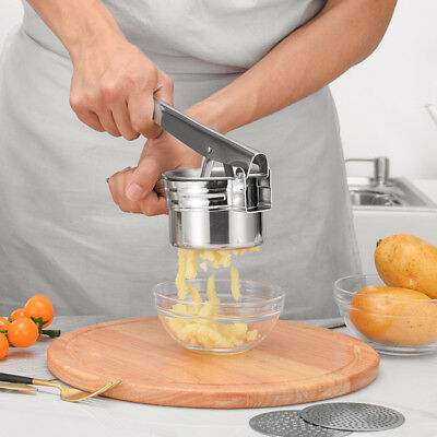 HOT Stainless Potato Ricer Masher Fruit Vegetable Press Maker Juicer Kitchen HB7