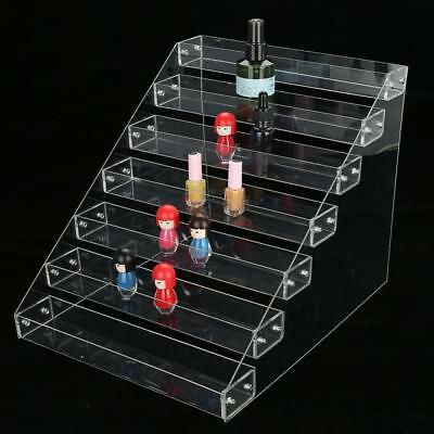 6 Styles Nail Polish Acrylic Clear Makeup Display Stand Rack Organizer Holder GD
