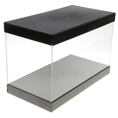 38.5x20x24.5cm Vitrine Box Staubdicht Show Case für Modell Display Box
