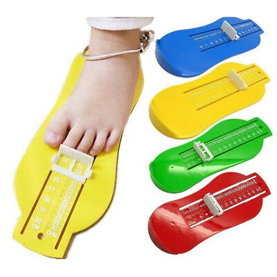 Baby Kids Foot Measure Gauge Shoe Size Measuring Ruler Tools Baby Shoes Fitting