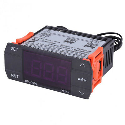 Digital STC-3000 -55℃~120℃ LED Thermostat Temperature Controller Heating Cooling