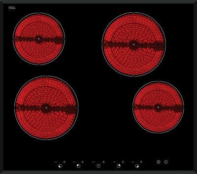 New Inalto - ICC604TB - 60cm Ceramic Cooktop - Touch Control