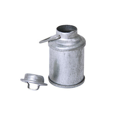 1/12 Dollhouse Miniature Tin Metal Milk Can Carrier Container w/ Lid Handle