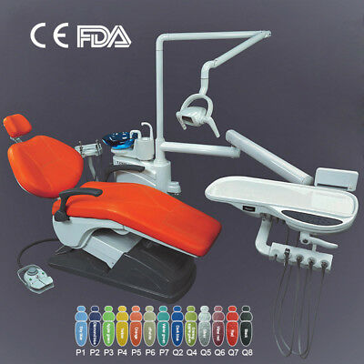 Dental Unit Chair Computer Controlled Hard Leather FDA CE Approved TJ2688 New