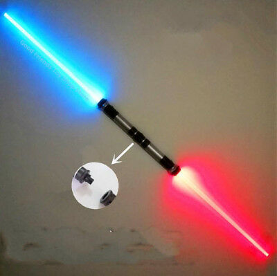 Star Wars Lightsaber Sound and Light Double Bladed Ultra Sabers 2Pcs//lot