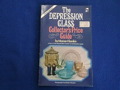 The Depression Glass Collector's Price Guide ~ Marian Klamkin ~ PB G