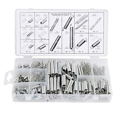 200x Assorted Extension Expansion Spring Assortment Compression Metal Steel Kit