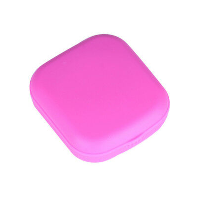 Portable Mini Contact Lens Case Box Travel Kit With Mirror Lenses Storage Holder