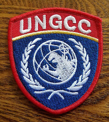 Godzilla G-Force UNGCC Shield Crest Patch 3  inches tall