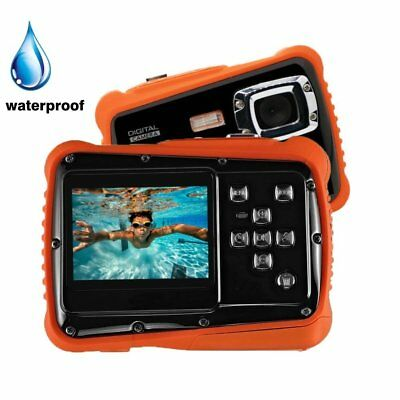Dust Proof CMOS Waterproof HD 720p 12MP LCD Compact Kids Digital Camera Children