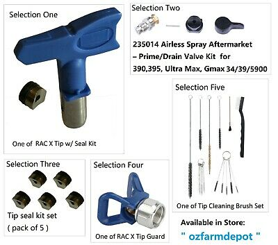 Airless Spray Tip Nozzle Rac X Switch Tip Type Style Tips For Gun Sprayers