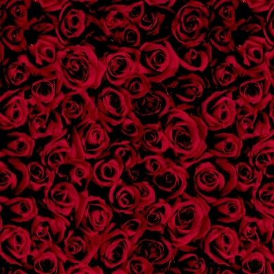 RED ROSES Hydrographics Film - Hydro Dipping Rolled film FLORAL