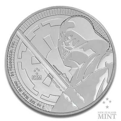 1oz Silbermünze STAR WARS™ Darth Vader™ 2018 New Zealand Mint 999 Silber