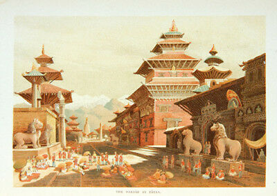 Temple: Journals kept in Hyderabad, Kashmir, Sikkim, and Nepal [2 Volumes] 1887
